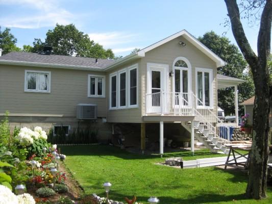 Construction mont ch teau votre r ve notre passion for Ajout garage maison
